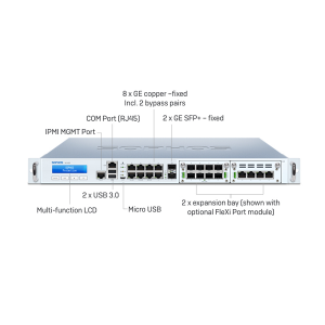 Sophos XG 330 Series Firewall Appliances Archives - Syscom