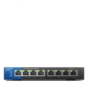 Linksys LGS108P 8-Port Business Desktop Gigabit PoE+ Switch