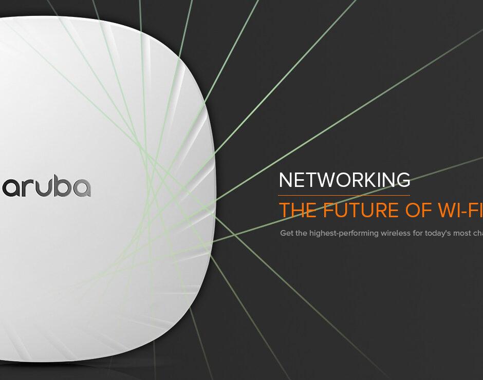 The future of Wi-Fi is here - Aruba